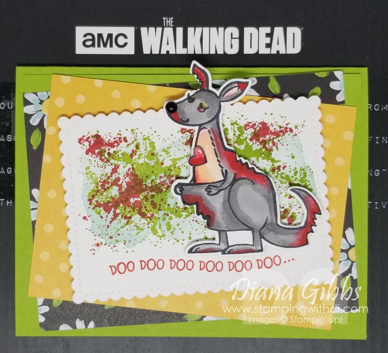 Walking dead kangaroo
