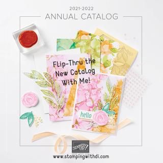 Flip-Thru stampingwithdi  https://www.stampingwithdi.com/2021/05/2021-2022-stampin-up-annual-catalog-flip-thru.html