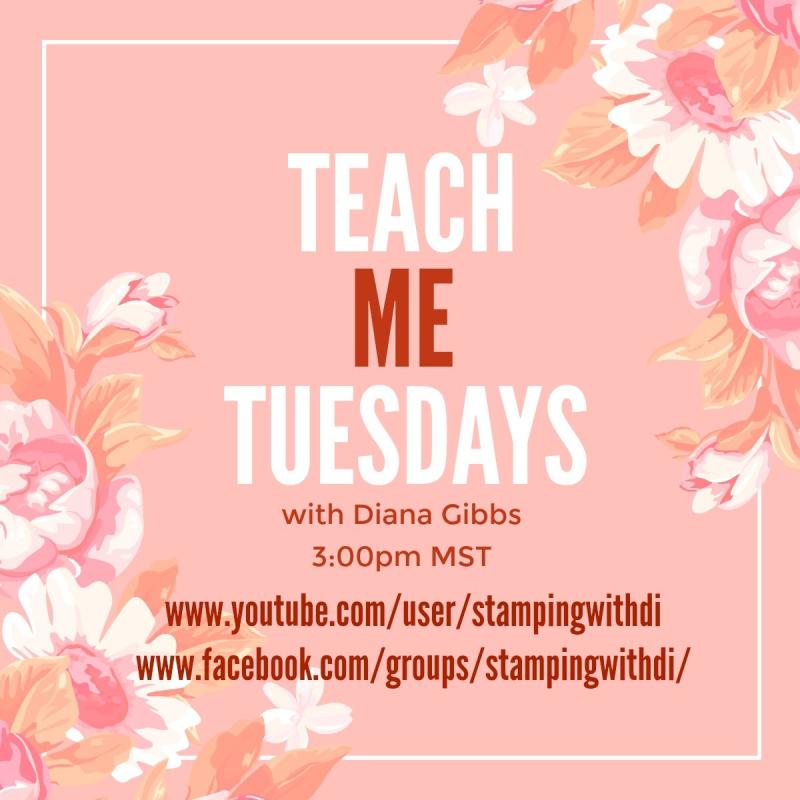 Teach Me Tuesdays YouTube FaceBook