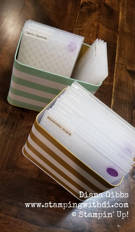 Organize embossing folders (1)