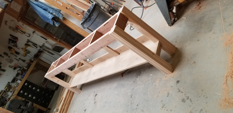 Bench table base