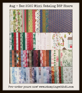 Aug - Dec Holiday catalog DSP Share with Diana Gibbs www.stampingwithdi.com