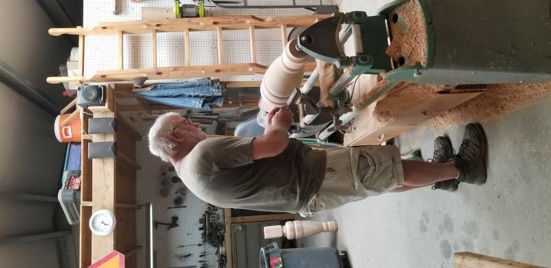 Turning legs