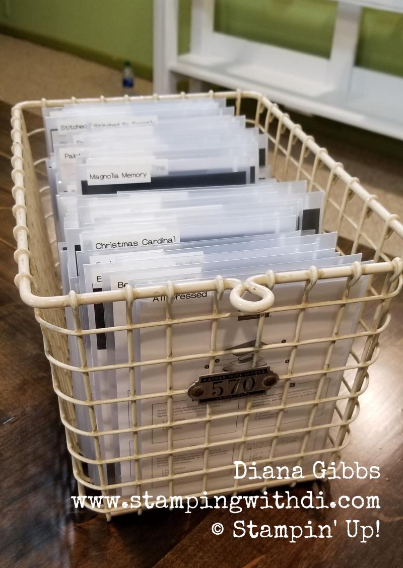 Organize dies (1)