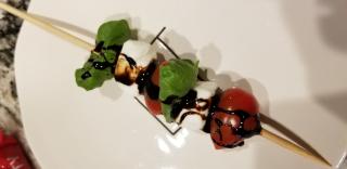 Caprese salad skewer www.stampingwithdi.com