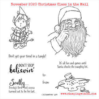 November 2020 Christmas Class in the Mail