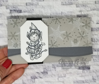 Don't Stop Believin' Elf Gift Card Holder https://www.stampingwithdi.com/2020/11/do-not-adjust-your-screen.html