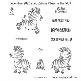 Zany Zebras Class in the Mail (1)