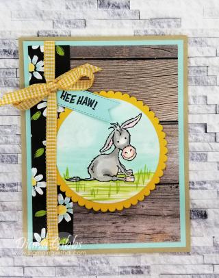 Darling Donkeys Flower Field DSP https://www.stampingwithdi.com/2020/12/darling-donkeys-flower-field-dsp.html