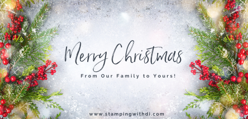 Merry Christmas 2020 stampingwithdi.com https://www.stampingwithdi.com/2020/12/merry-christmas.html