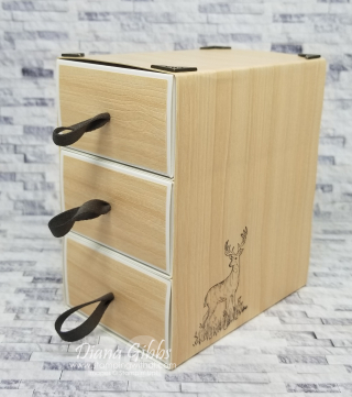 Natural Dresser stamping with di