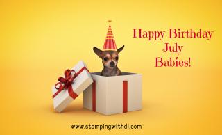 Birthday Dog July