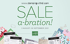 Aug - September SAB Brochure Cover stamping with di