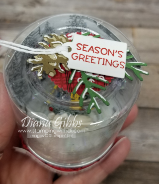 Christmas Jam Jar Top with DSP stamping with di  https://www.stampingwithdi.com/2021/08/peaceful-place-dsp-christmas-tree-jam-jar.html