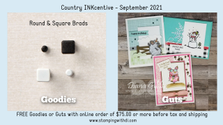 Country INKcentive September - Goodie or Guts