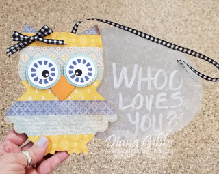 Owl on galvenized sign stamping with di  https://www.stampingwithdi.com/2021/09/video-harvest-meadow-dsp-covered-owls-teach-me-tuesdays-ep-96.html