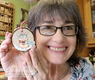 Joyful Life Wooden Ornament stamping with di https://www.stampingwithdi.com/2021/09/video-joyful-life-wooden-ornament-teach-me-tuesdays-episode-99.html