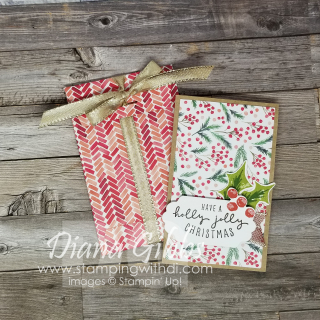 Painted Christmas Gift Card Holder stamping with di  https://www.stampingwithdi.com/2021/10/painted-christmas-gift-card-holder.html