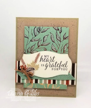 Beautiful Autumn card https://www.stampingwithdi.com/2020/08/august-mystery-card-gut-challenge.html