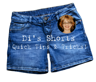 Di's Shorts Quick Tips & Tricks https://www.stampingwithdi.com/2020/09/dis-shorts-quick-tips-tricks.html