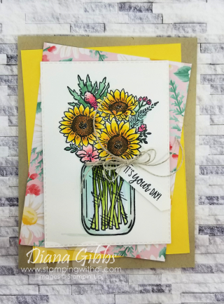 Jar of Flowers Diana Gibbs stampingwithdi https://www.stampingwithdi.com/2020/12/jar-of-flowers-vertigo.html