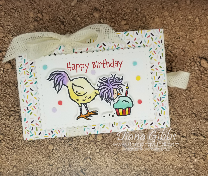 Hey Birthday Chick Love Ya Box
