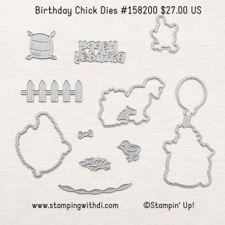 Birthday Chick Dies stampingwithdi https://www.stampingwithdi.com/2021/02/winner-winner-chicken-dinner.html