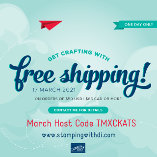 Free Shipping One Day Only stampingwithdi