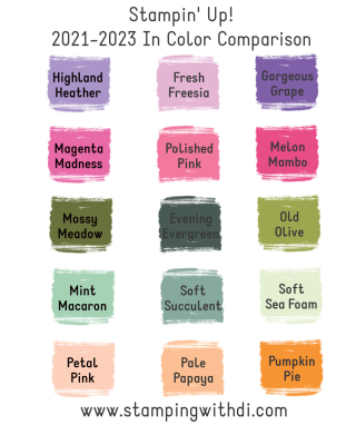 In Color Comparison Stamping With Di