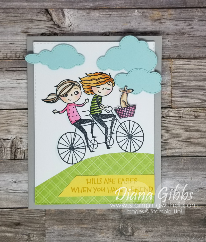 Right Behind You with Give it a Whirl Dies stampingwithdi