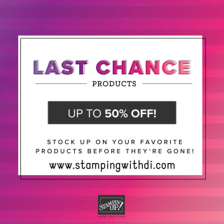 Last Chance Up to 50% off stamping with di  https://www.stampingwithdi.com/2021/06/last-chance-products-up-to-50-off.html