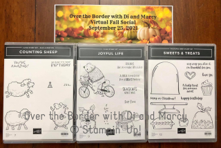 OTB Fall Social 2021 stamp sets stamping with di