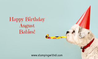 Birthday Dog August stamping with di https://www.stampingwithdi.com/2021/08/august-host-code-country-inkcentive-bumblebee-trinkets.html