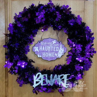 Dollar Tree wreath stamping with di https://www.stampingwithdi.com/2021/09/video-super-cute-easy-halloween-wreath-dollar-tree-fun-finds.html