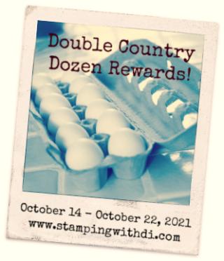 Double Country Dozen Rewards Eggs October 2021