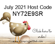 July 2021 Host Code  stamping with di
