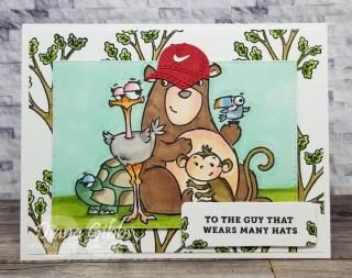 Make a Mini Swoosh Hat stamping with di  https://www.stampingwithdi.com/2021/07/make-a-mini-nike-hat.html