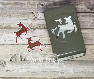 Deer Builder Punch Trick stamping with di https://www.stampingwithdi.com/2021/08/deer-builder-punch-trick-50-swap-cards.html