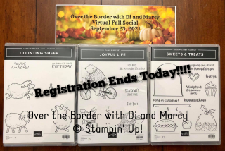 OTB Fall Social 2021 Sets Registration Ends Today! stamping with di