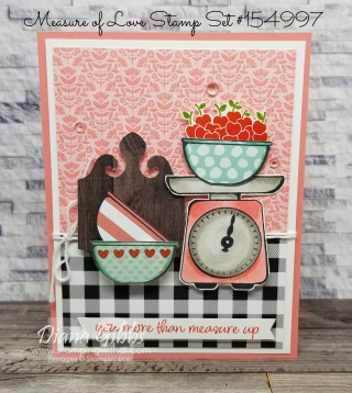 Measure of Love stamping with di