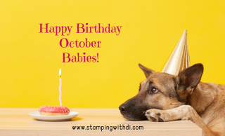 Birthday Dog October stamping with di  https://www.stampingwithdi.com/2021/10/october-goodies-or-guts-country-inkcentive.html