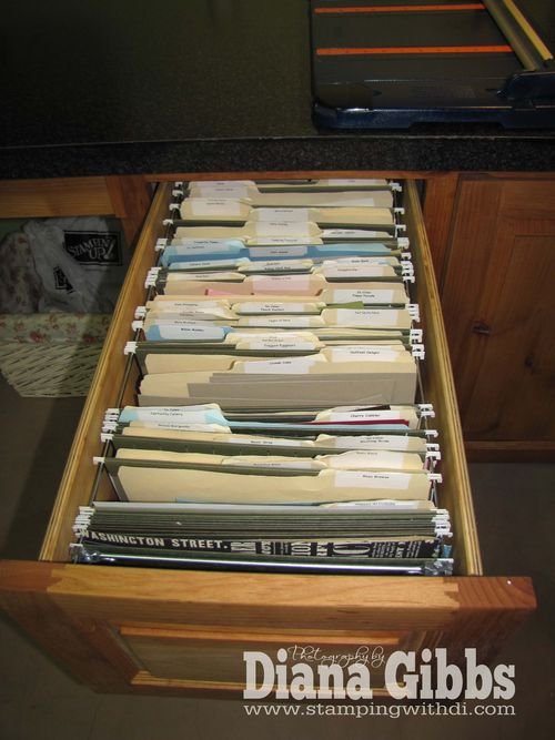 Scrap paper drawer